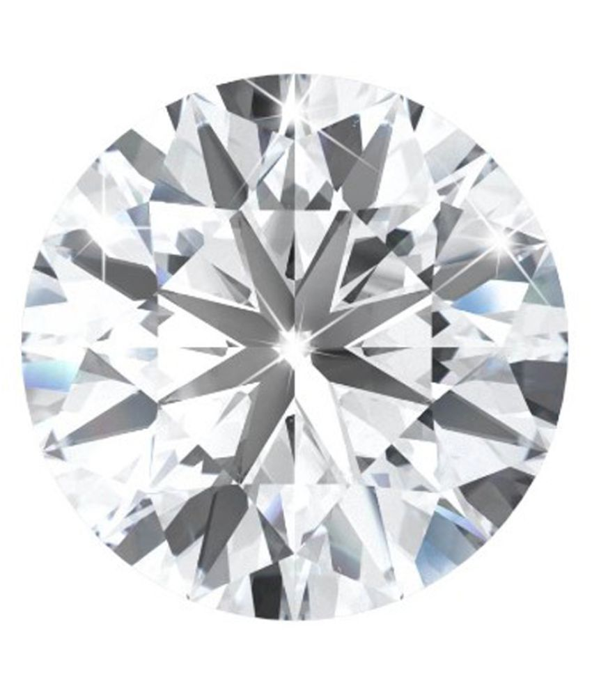 100% Certified 0.78 Carat White Moissanite Diamond (Heera) Brilliant Round Excellent Cut Loose Gemstone AAA+ Quality