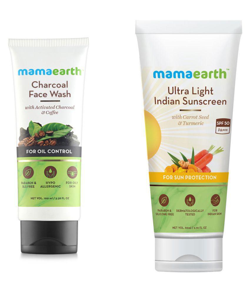 Mamaearth Face Wash 180 mL Pack of 2