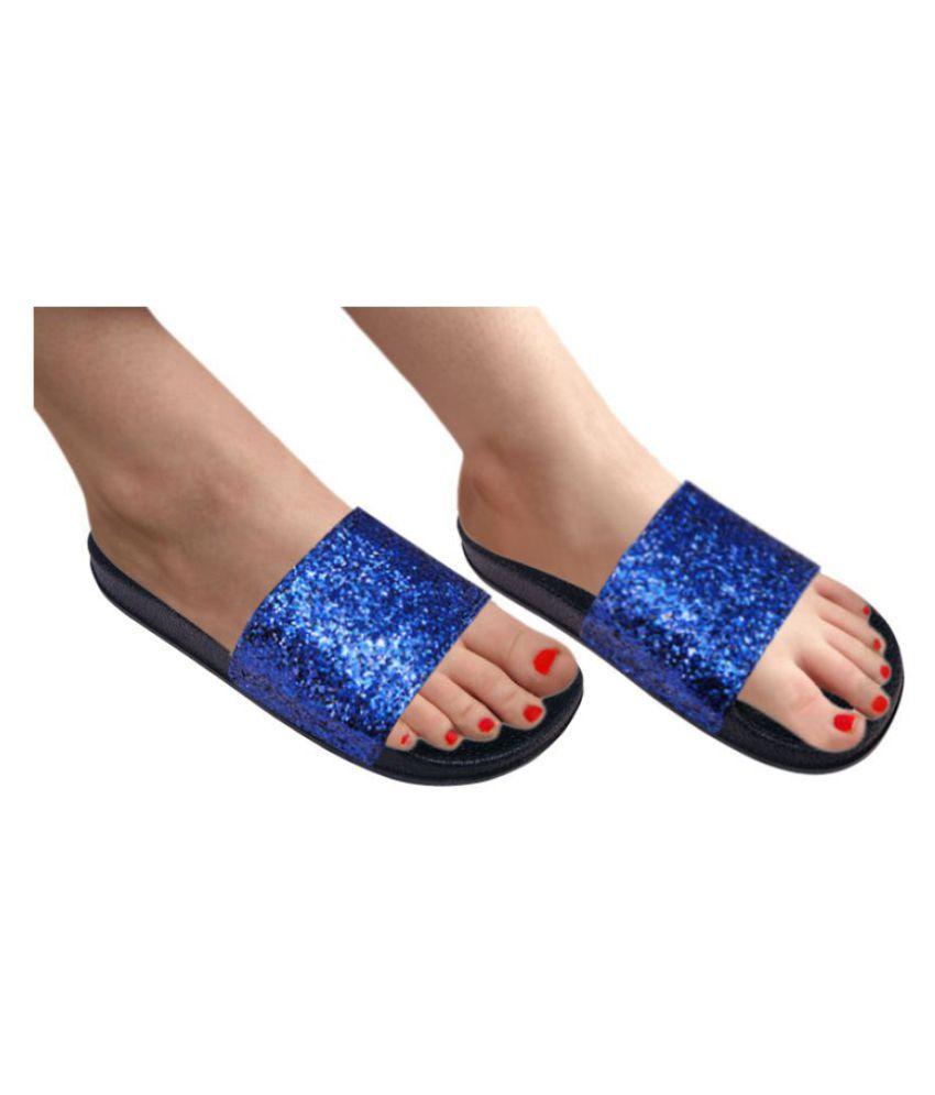 Action Blue Slides