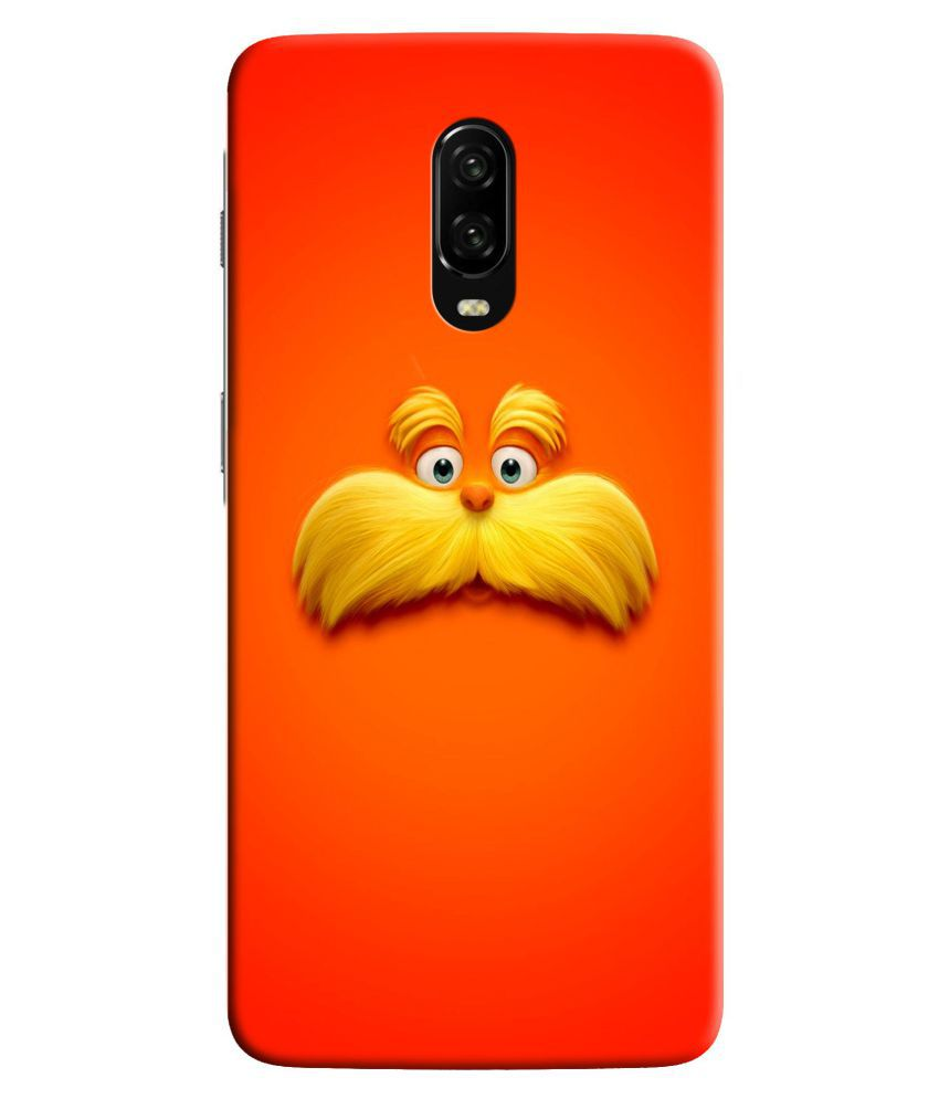 OnePlus 6T Printed Cover By HI5OUTLET
