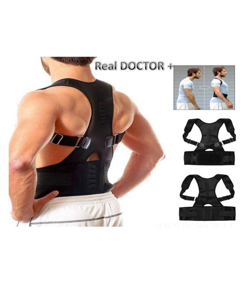 BSBDA Real Doctors+Posture Back Support Belt BSBDA Free Size