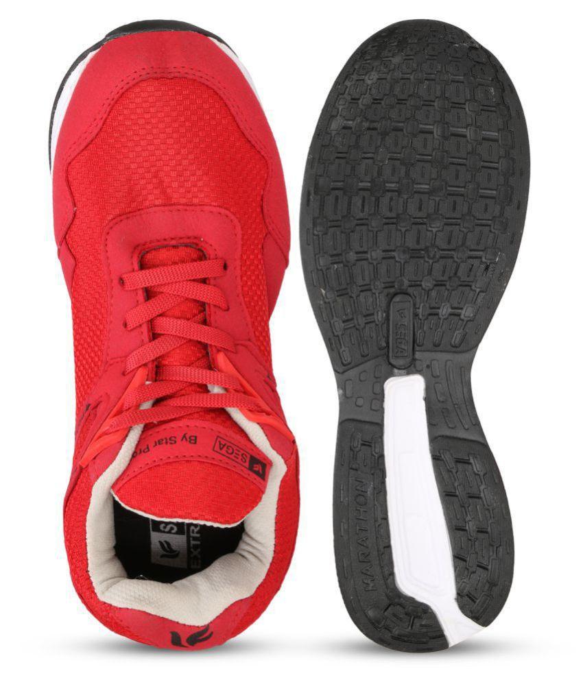SEGA S-9 Red Indoor Court Shoes - Buy SEGA S-9 Red Indoor