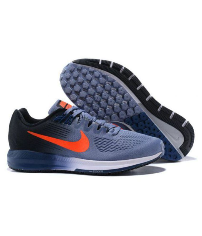 premium selection a6d8d 75c2c Nike AIR ZOOM STRUCTURE 21 Running Shoes Gray