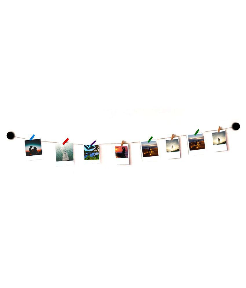 VAH VAH Round wooden Hanging Photo Wall Hanging Wood Photographs Without Frame