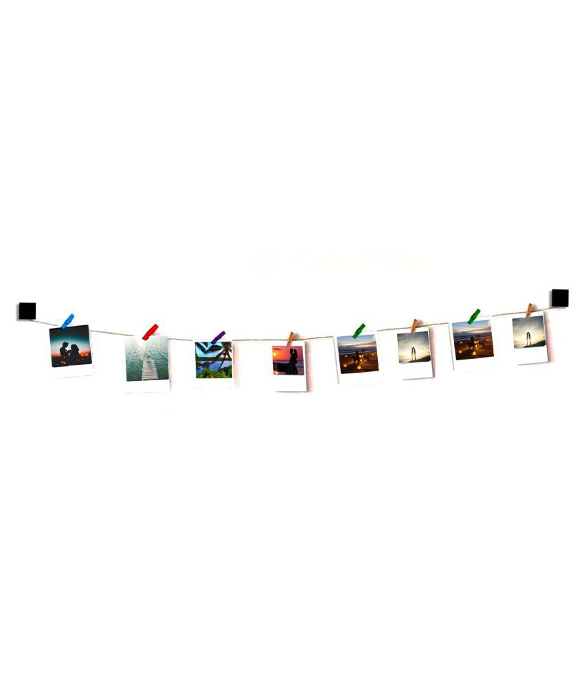 VAH VAH Square wooden Hanging Photo  Wall Hanging Wood Photographs Without Frame