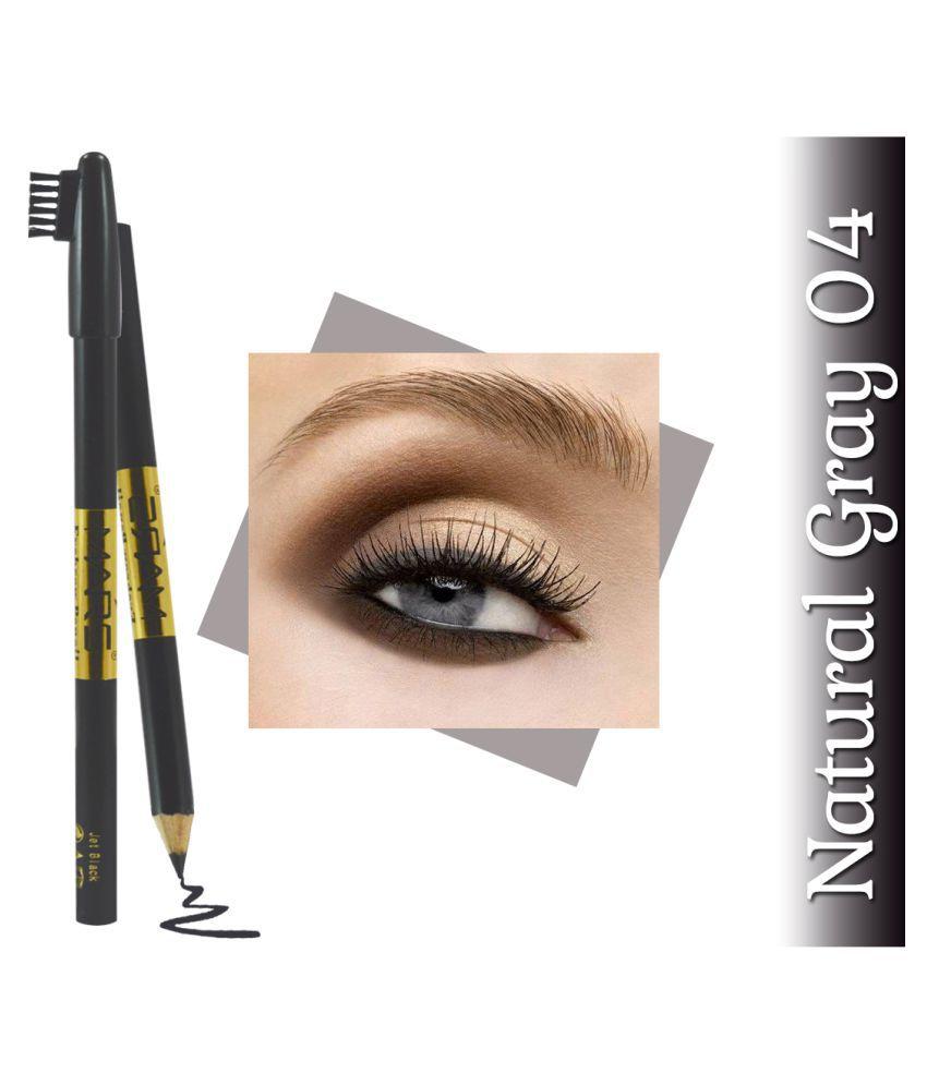 Mars Aloevera & Vitamin E With Adbeni Kajal EB14-04 Brow Pencil Grey 1 g
