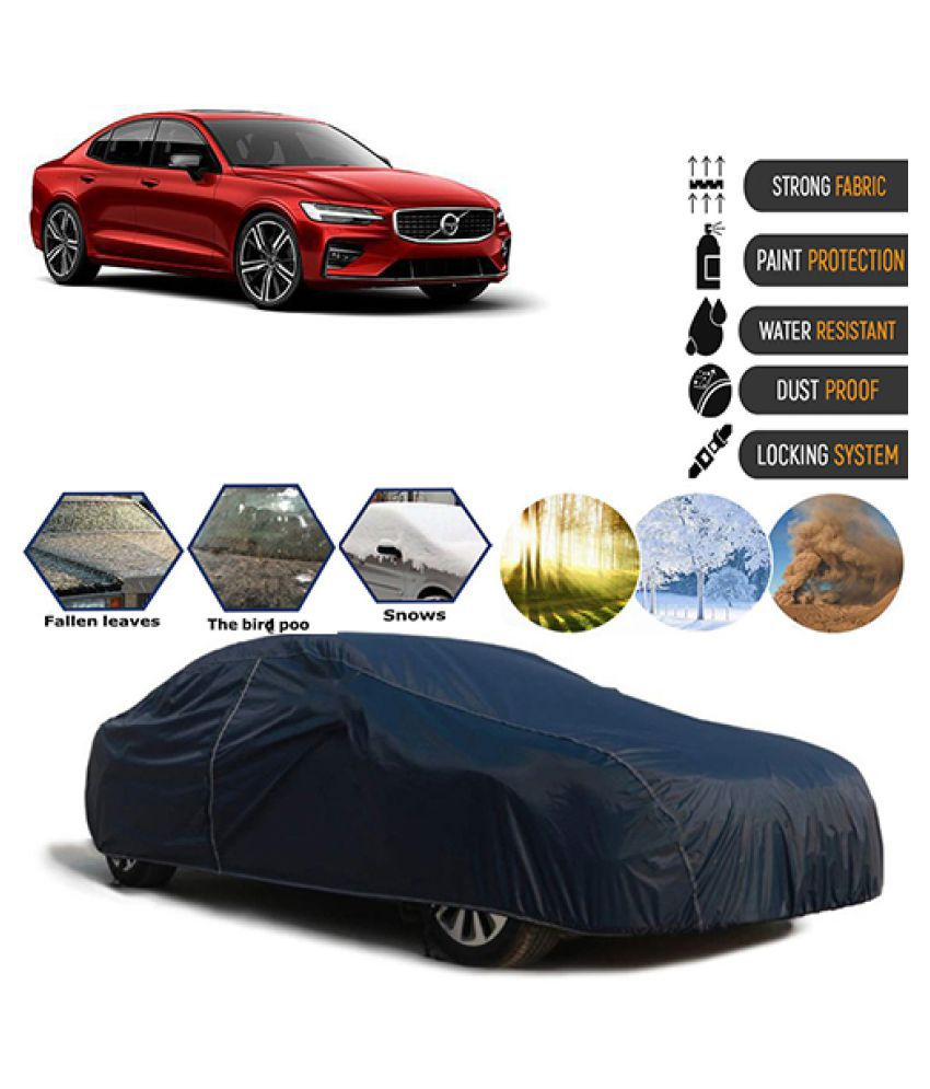 Goldkart Car Body Cover for Volvo S60 2019 Blue