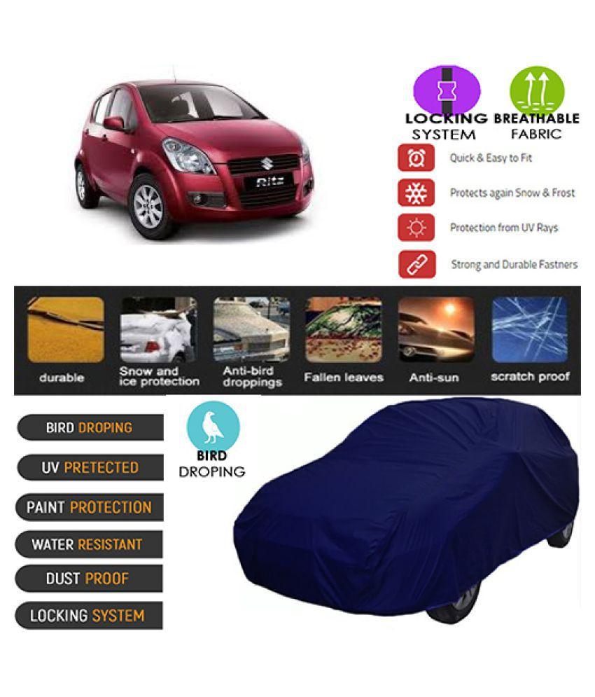 Goldkart Car Body Cover for Maruti Suzuki Omni [2010-2013] Blue