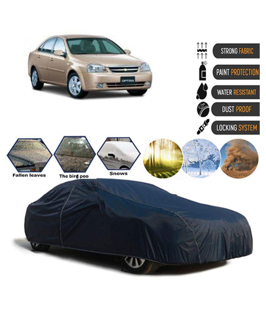 Goldkart Car Body Cover for Chevrolet Optra Blue