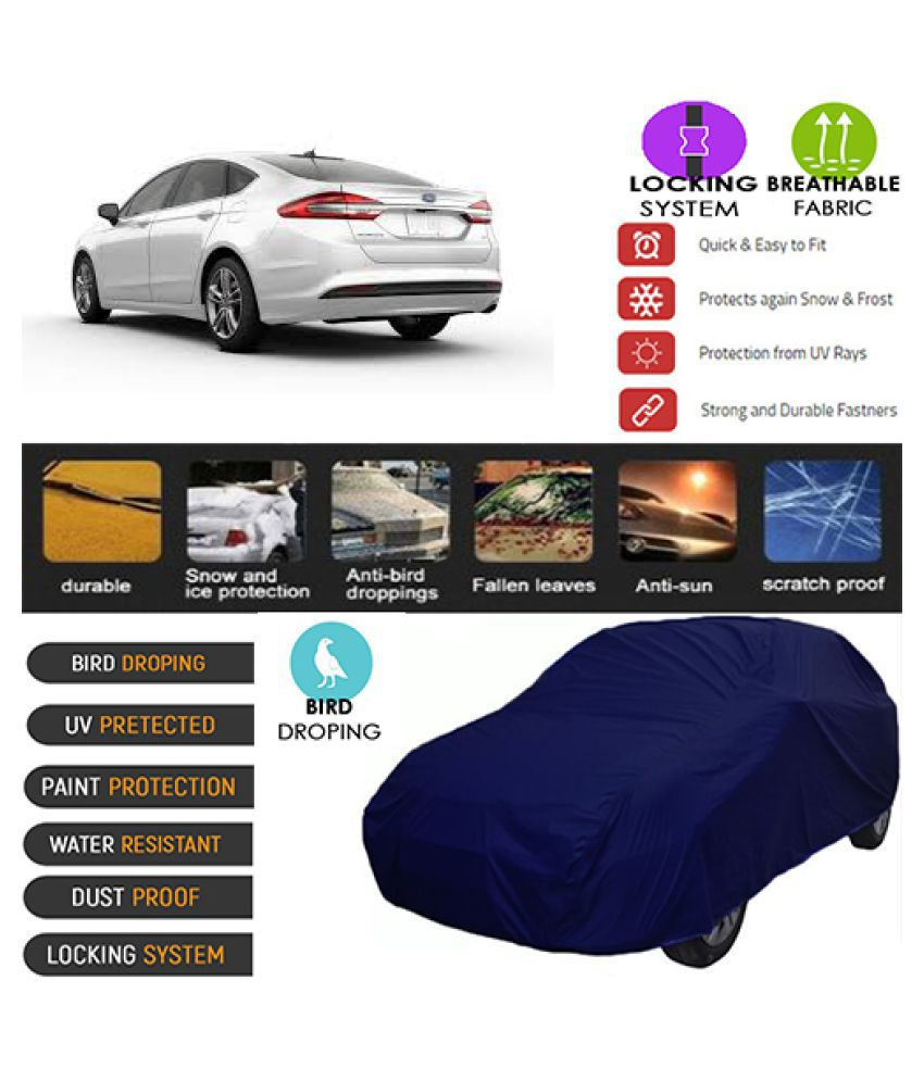 Goldkart Car Body Cover for Ford Fusion Blue