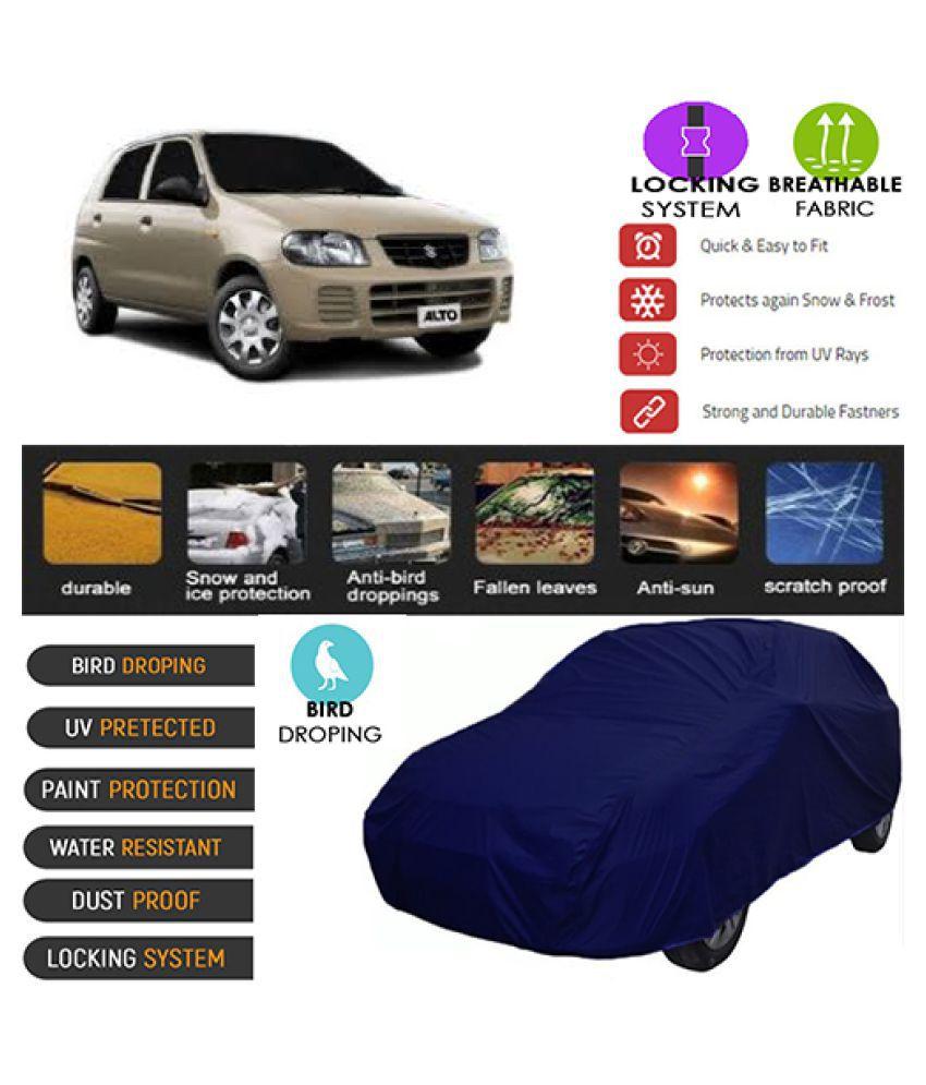 Goldkart Car Body Cover for Maruti Suzuki Alto [2000-2005] Blue