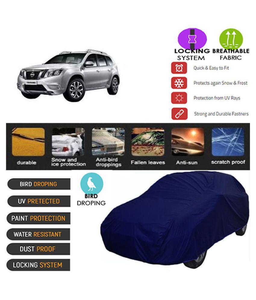 Goldkart Car Body Cover for Nissan Teana [2007-2014] Blue