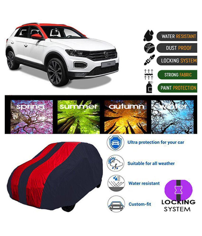 Goldkart Car Body Cover for Volkswagen T-Roc Maroonblue