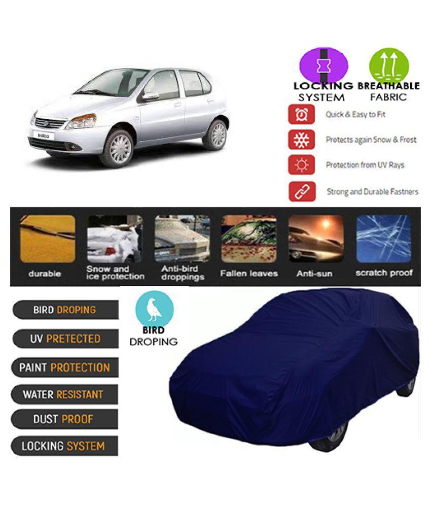 Goldkart Car Body Cover for Tata Indigo [2002-2005] Blue