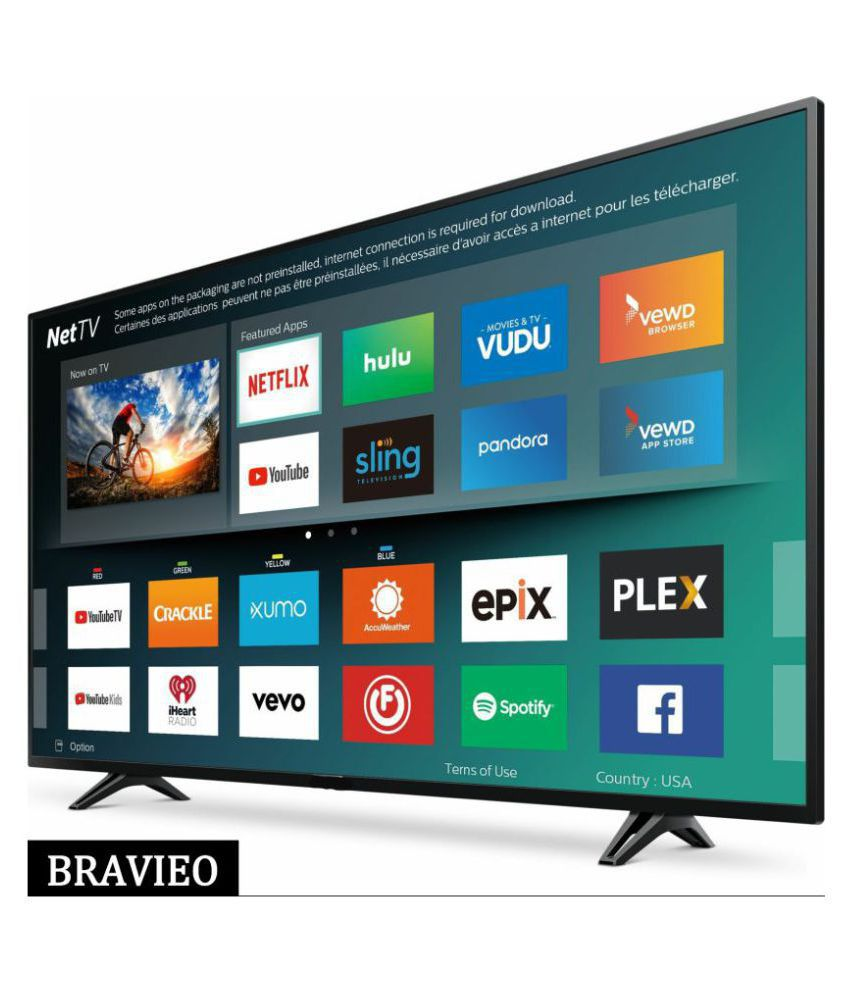Bravieo KLV-40N4300B 100 cm ( 40 ) Smart Full HD (FHD) LED Television With 1+1 Year Extended Warranty