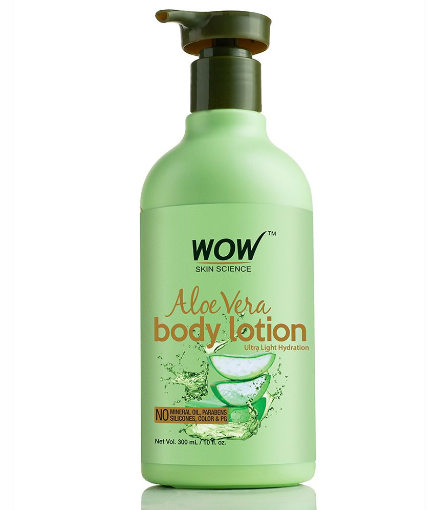 WOW Skin Science Aloe Vera Body Lotion ( 300 ml )