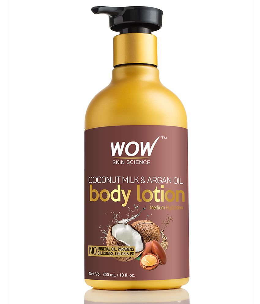 WOW Skin Science Coconut Milk & Argan Oil Body Lotion ( 300 ml )