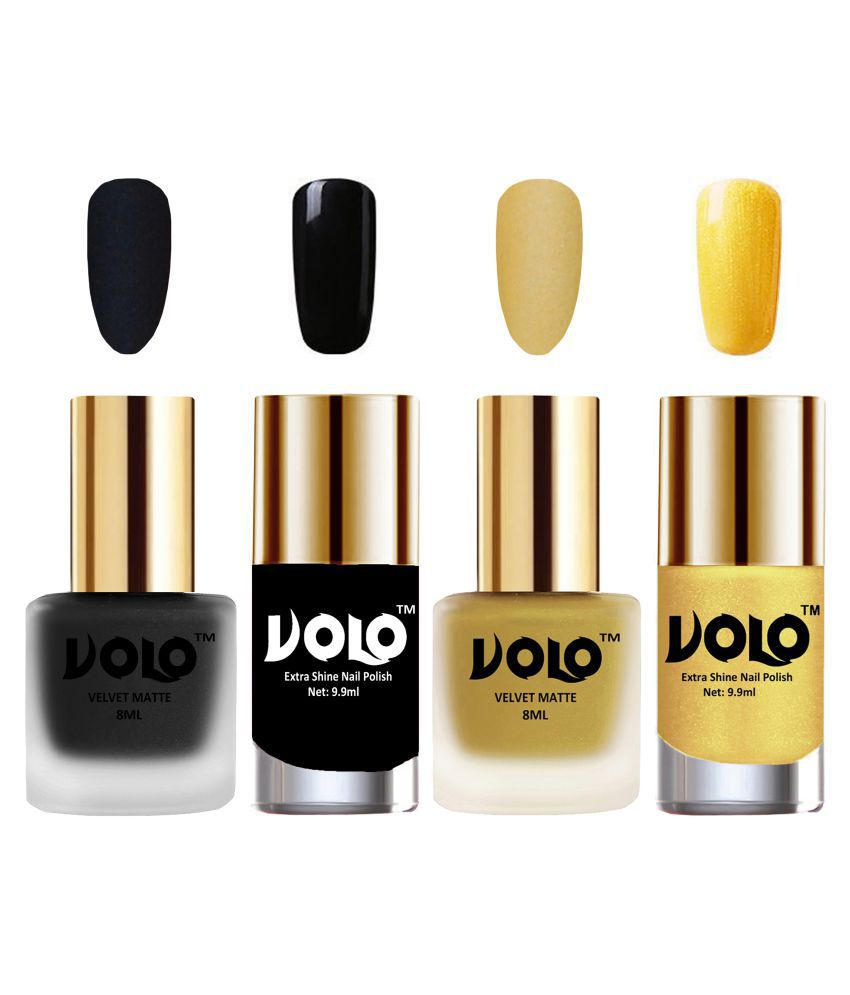 VOLO Extra Shine AND Dull Velvet Matte Nail Polish Brown