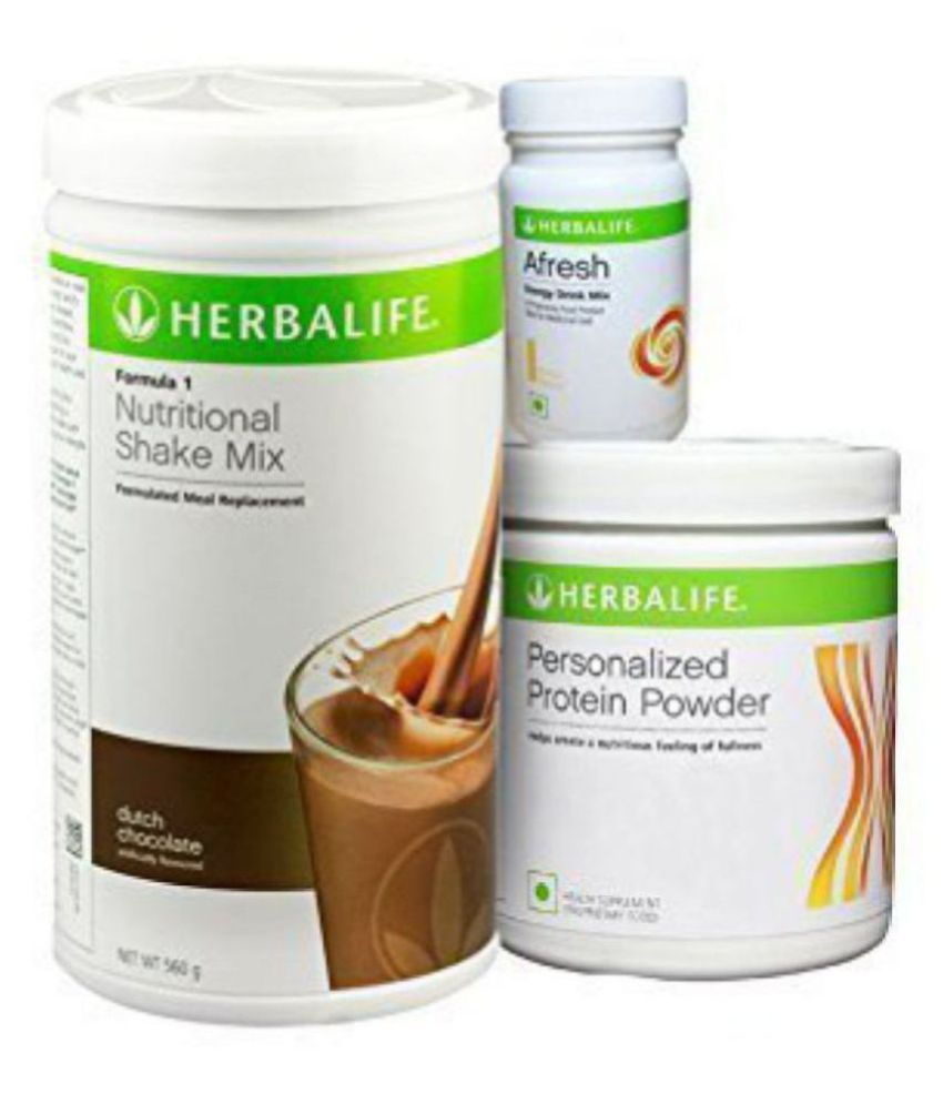 Herbalife Weight Loss Package For Mula1 Chocolate Personalized Protein Powder Ppp Afresh Lemon 50 Gm Pack Of 3