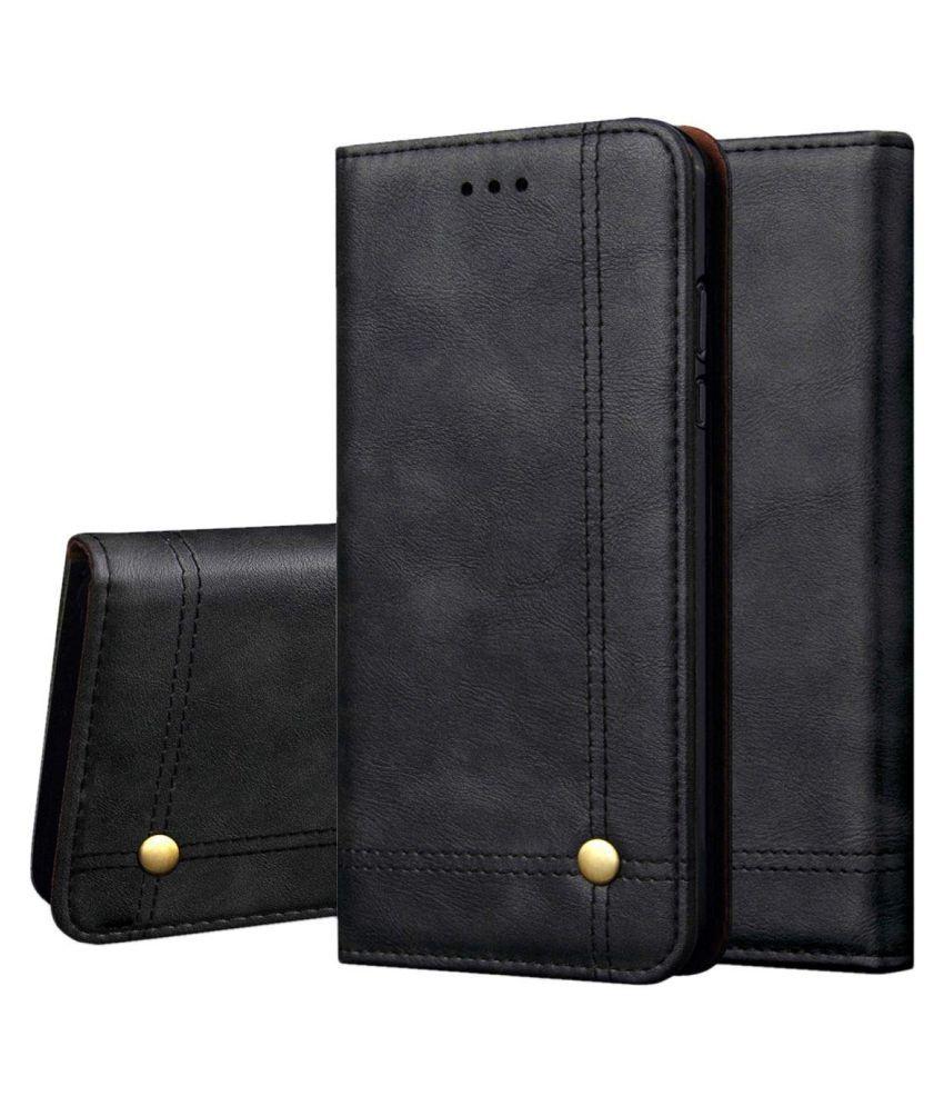 Oneplus 1 Flip Cover by NKARTA - Black