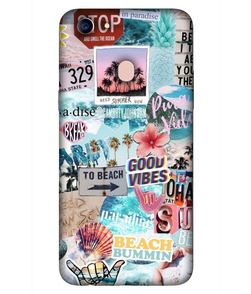 Oppo F5 Youth 3D Back Covers By DoubleF