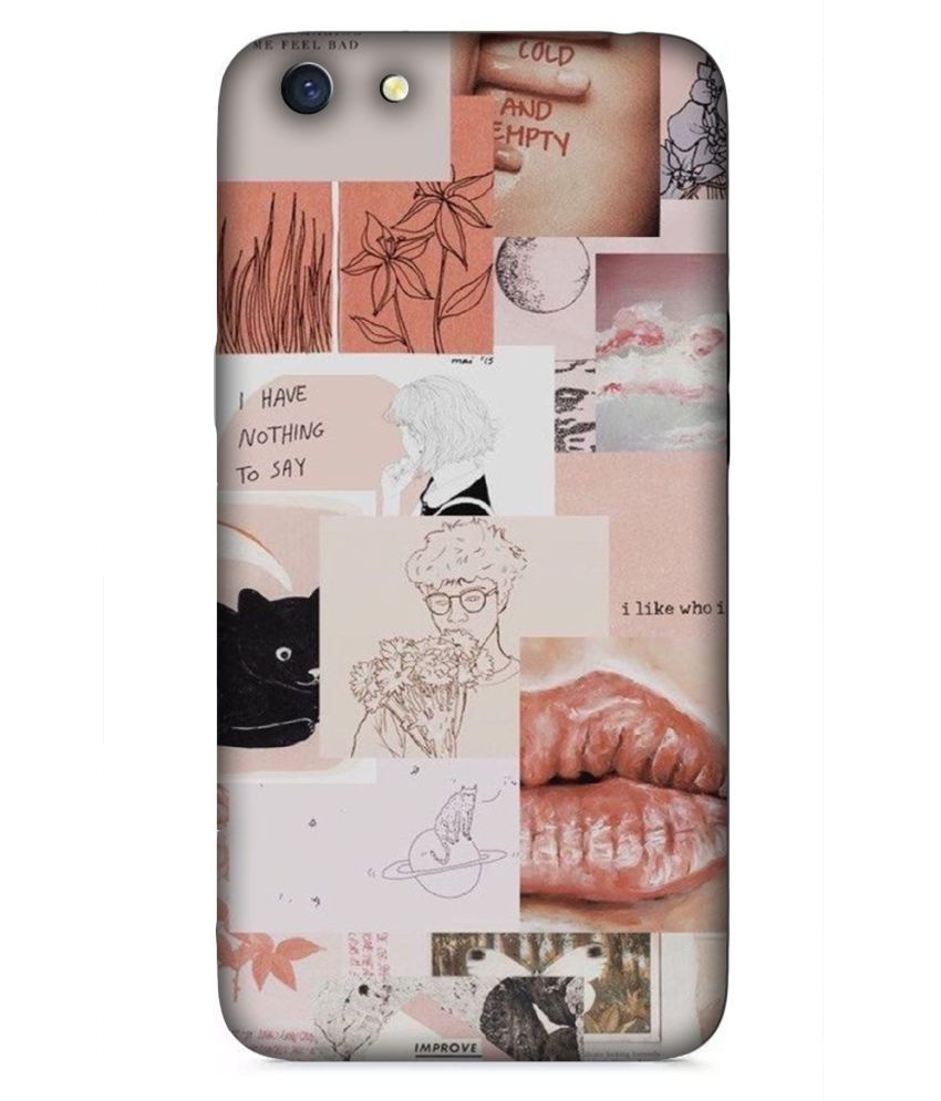 Oppo A71 3D Back Covers By DoubleF