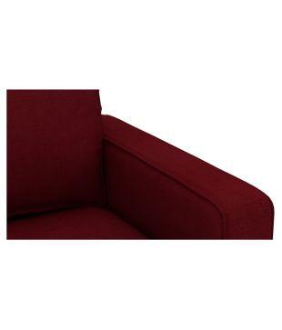 White Cedar Maroon Sofa Set 3 2
