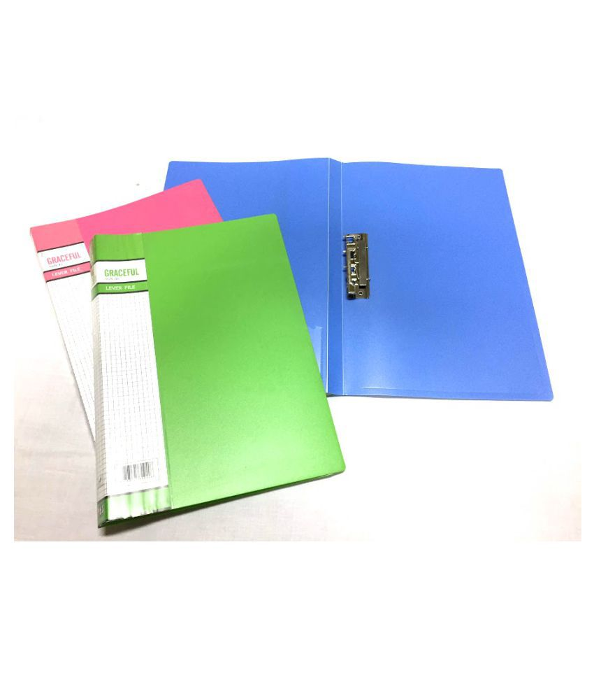 Yes Punchless Clip File (3 pcs)