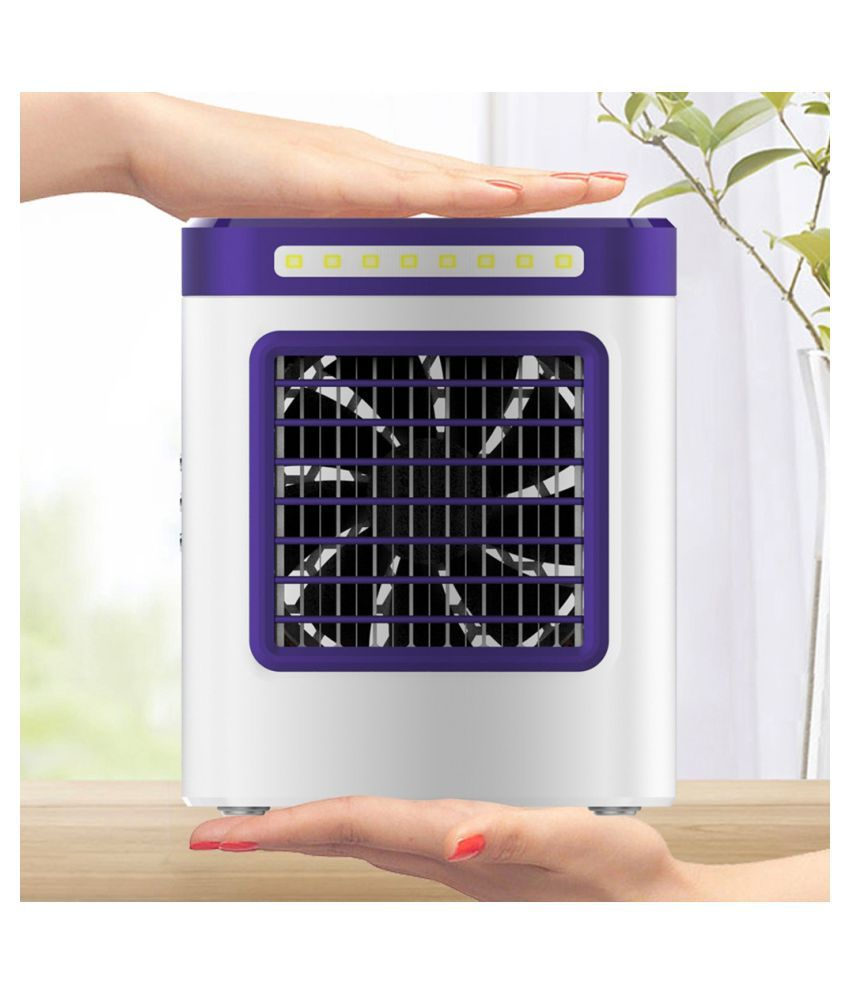 New Charging S9 Mini Portable Air Conditioning Fan Home Refrigerator Cooler UK