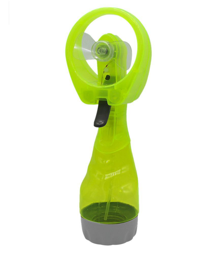 Portable Hand held Cooling Cool Water Spray Misting Fan Mist Travel Beach