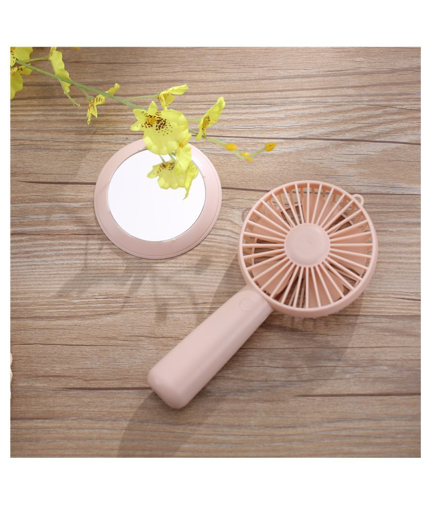 Protable Desktop Fan USB Mini Electric Fan Table Fan 3-Speed Wind Adjustable