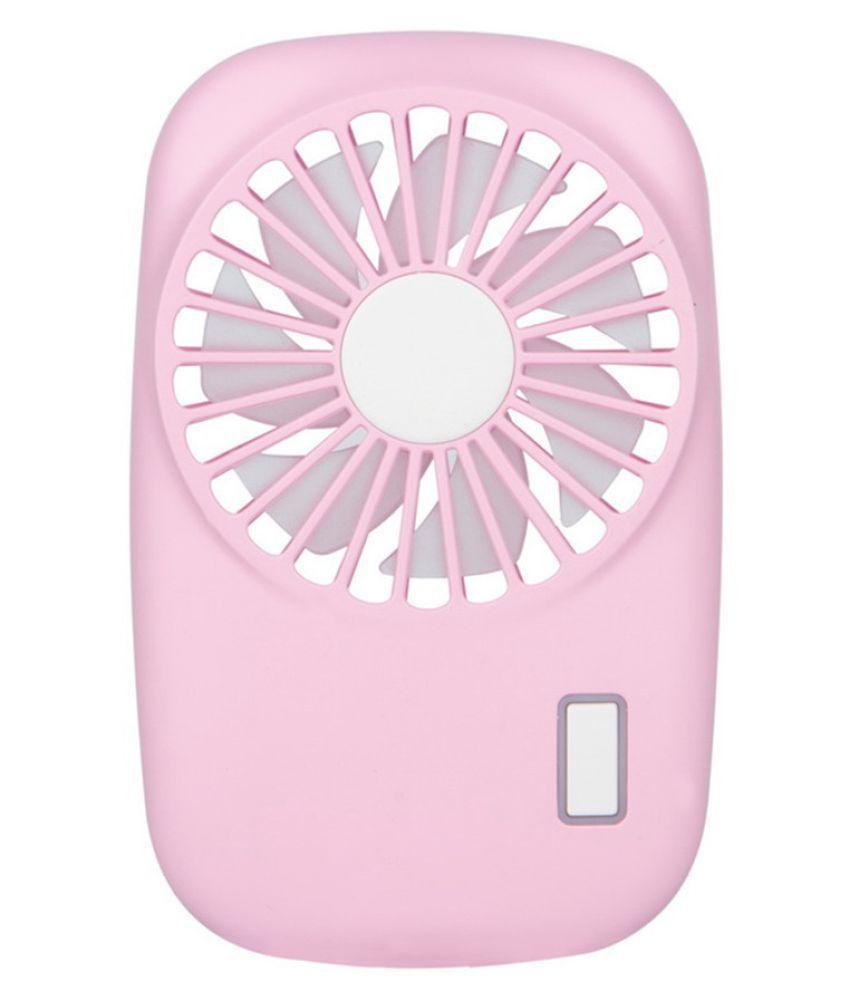 Protable Handheld Fan USB Mini Electric Fan Pocket Fan 2-Speed Wind Adjustable