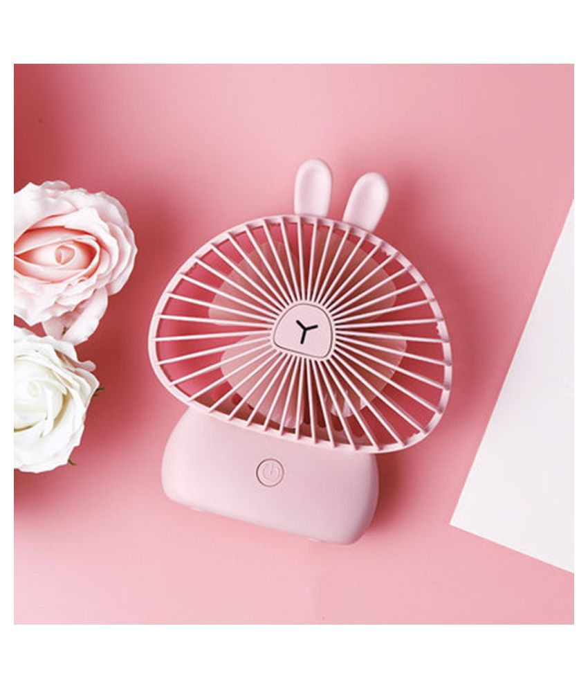 Rechargeable Portable USB Powered Cooling Fan Handheld Mini Fan