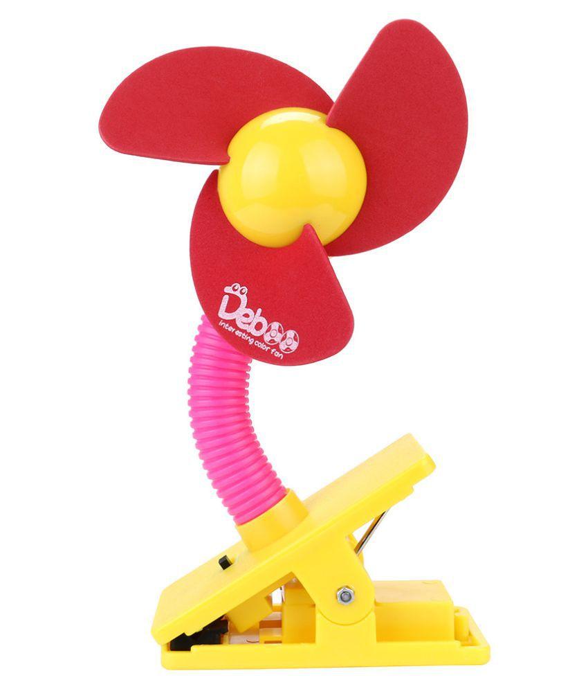 Stroller Fan Portable Baby Mini Safety Clip On Pushchair Pram Cot