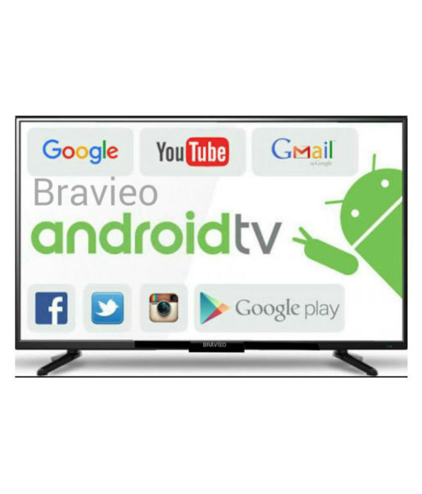 Bravieo KLV-32N4300B 80 cm ( 32 ) Smart Full HD (FHD) LED Television With 1+1 Year Extended Warranty