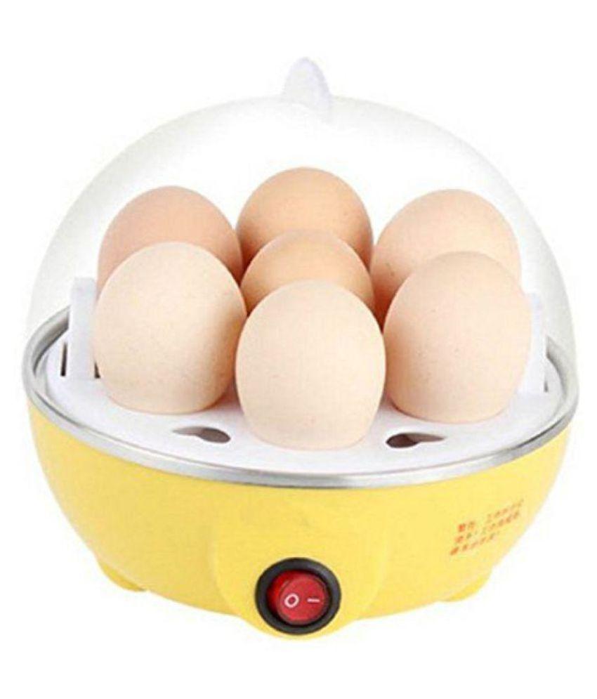 Egg Boiler/Egg Poacher/ 7 Egg Cooker/Electric Egg Boiler/ Egg Steamer/ Home Machine Egg Boiler With Egg Tray