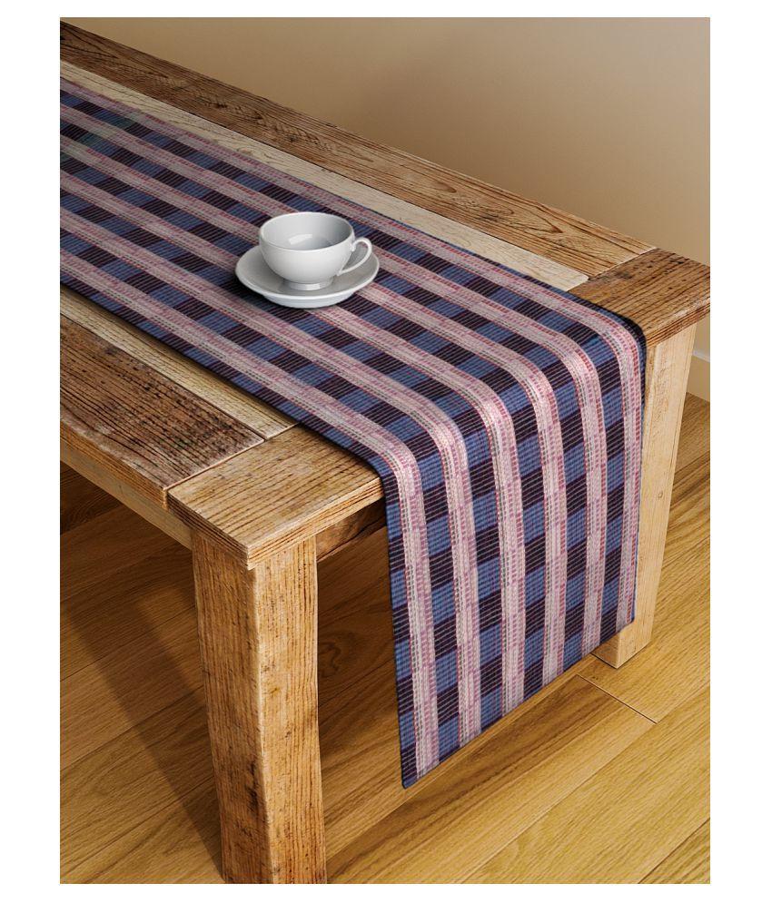 Dhrohar 6 Seater Cotton Single Table Runner
