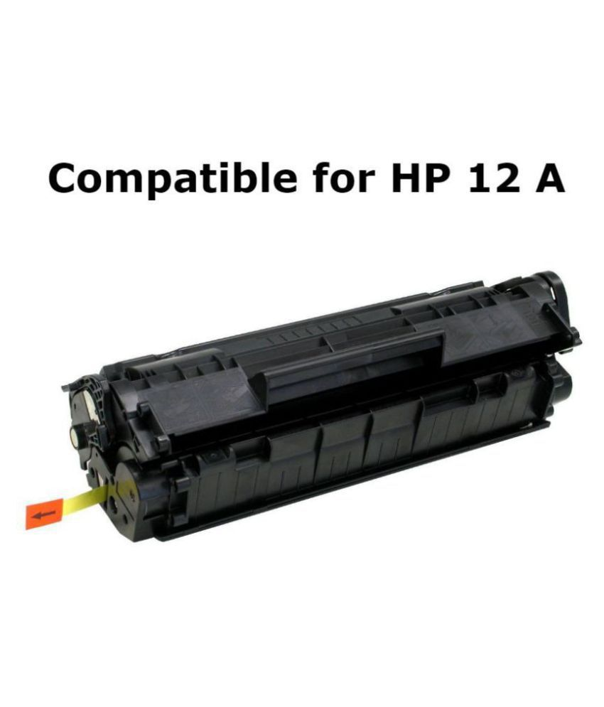 JAYTAR 12A / Q2612A Black Single Toner for HP LASERJET 1010, 1012, 1015, 1018, 1020, 1022, 1022N, 3020, 3030