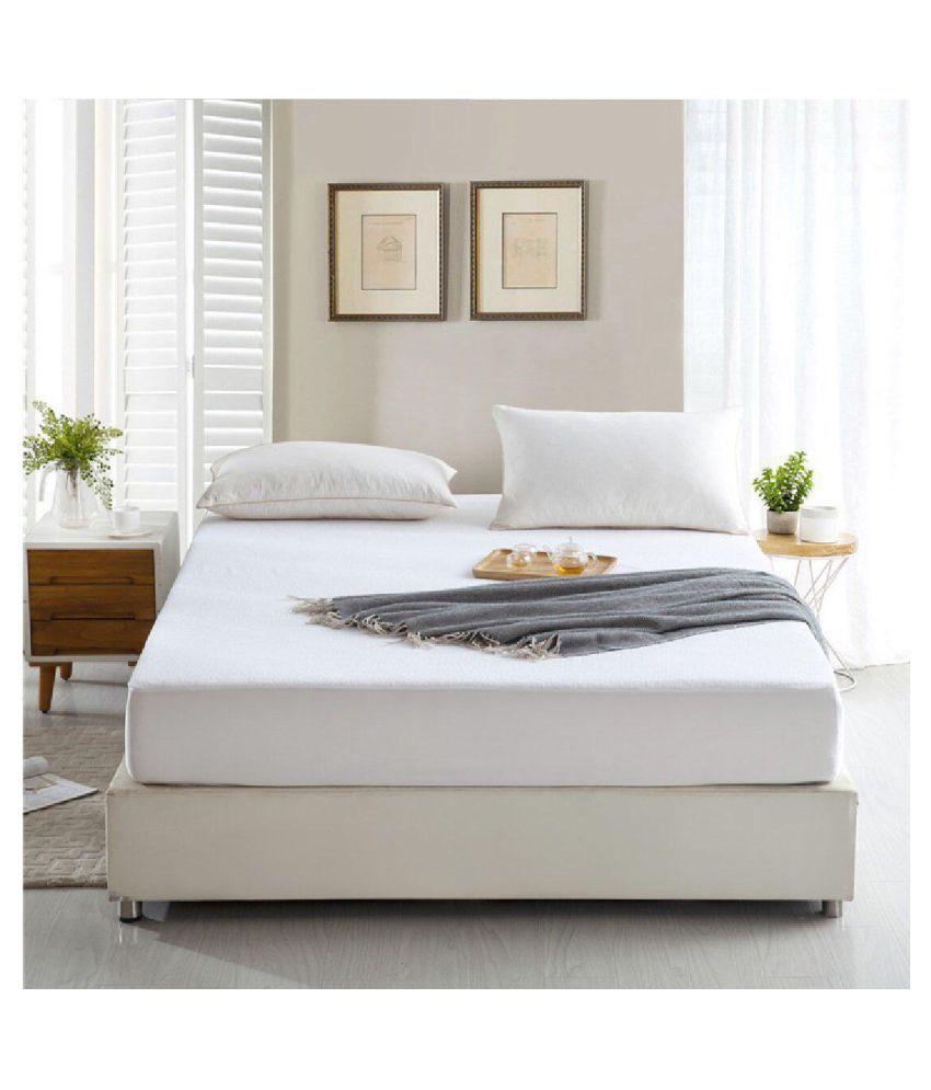 HomeStore-YEP White Cotton Mattress Protector