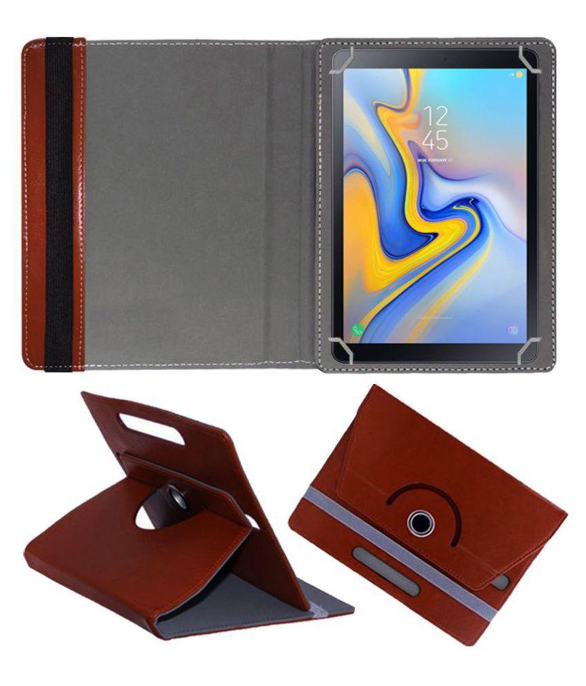 Samsung Galaxy Tab A 10.5 Inch (LTE) Flip Cover By FASTWAY Brown