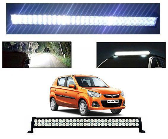 Trigcars Maruti Suzuki Alto K10 Bar Light Fog Light 51Inch 120Watt