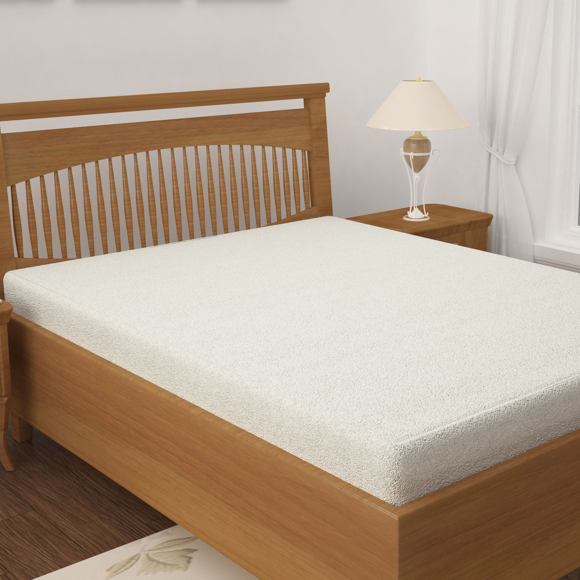 Story@Home White Cotton Mattress Protector