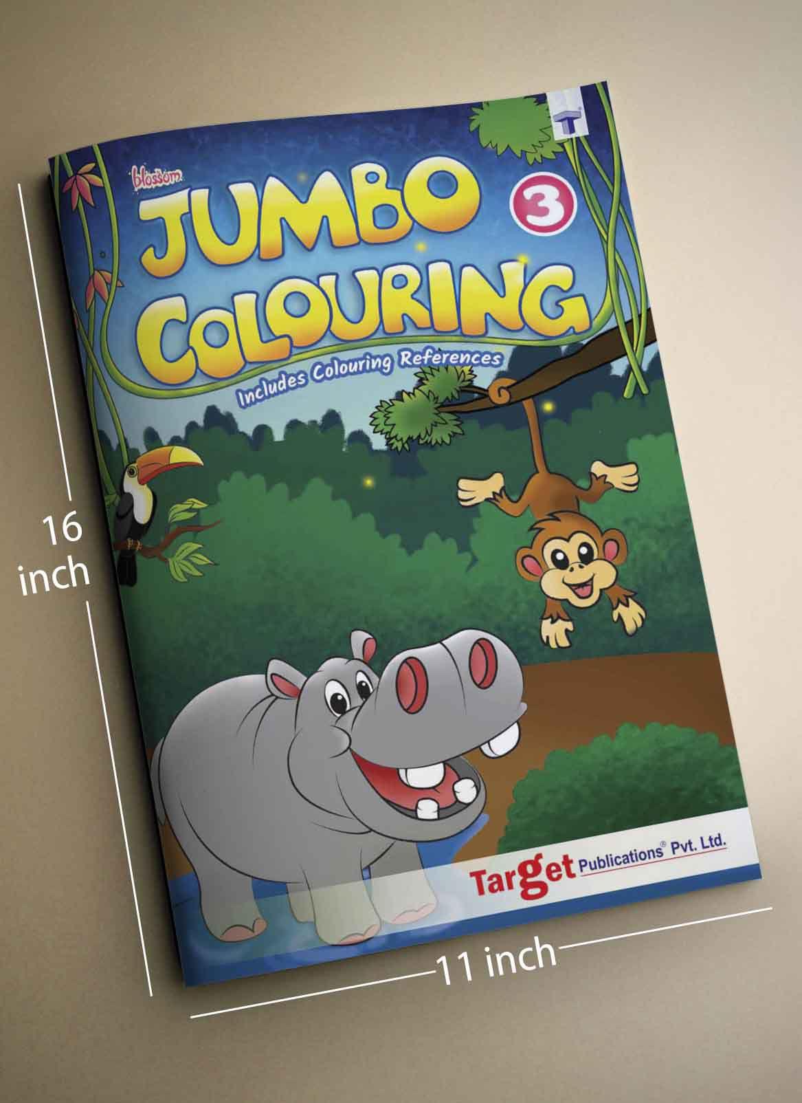 Blossom Jumbo Colouring Books for SDL 2 8748f