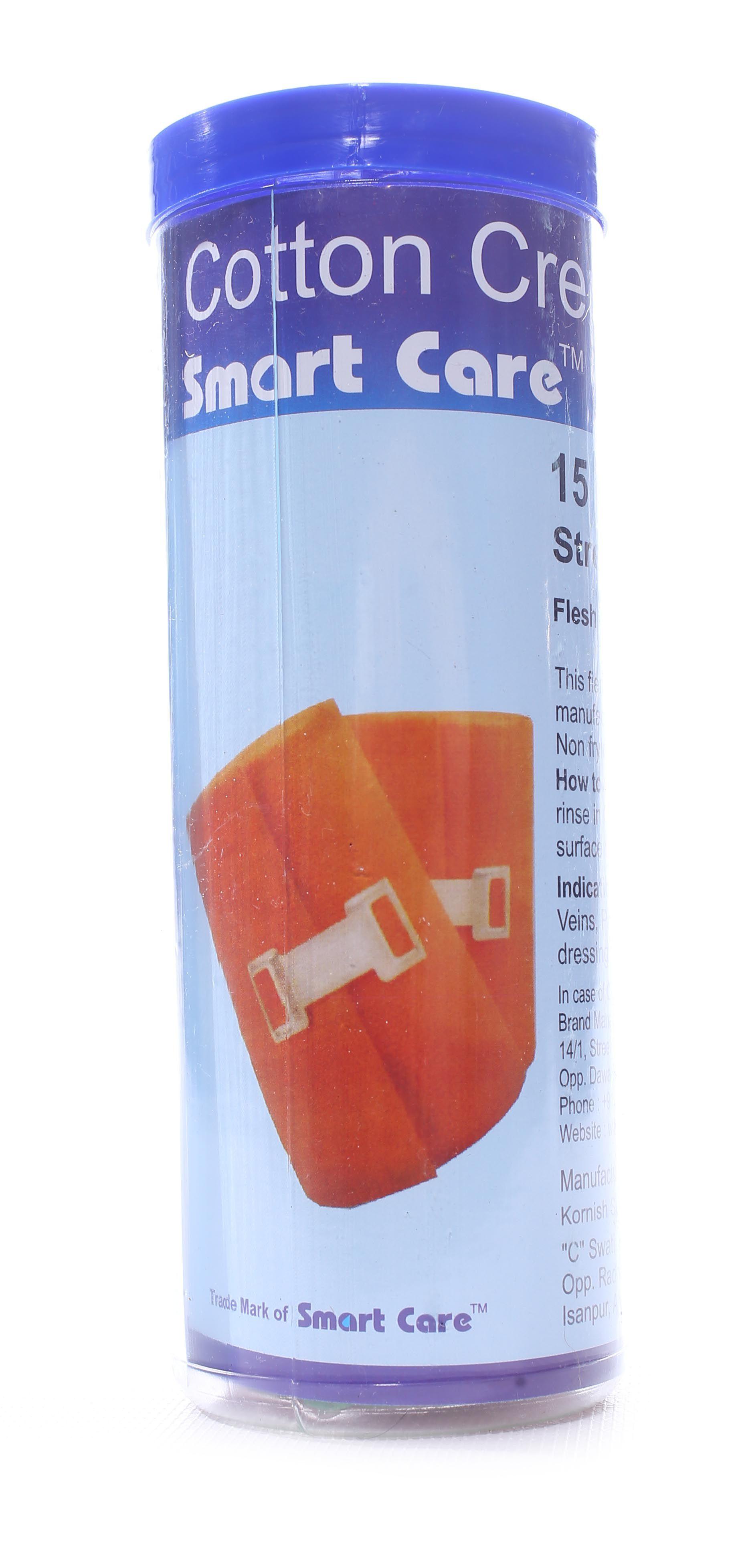 Smart Care Cotton Crepe Bandage 15cm Cotton