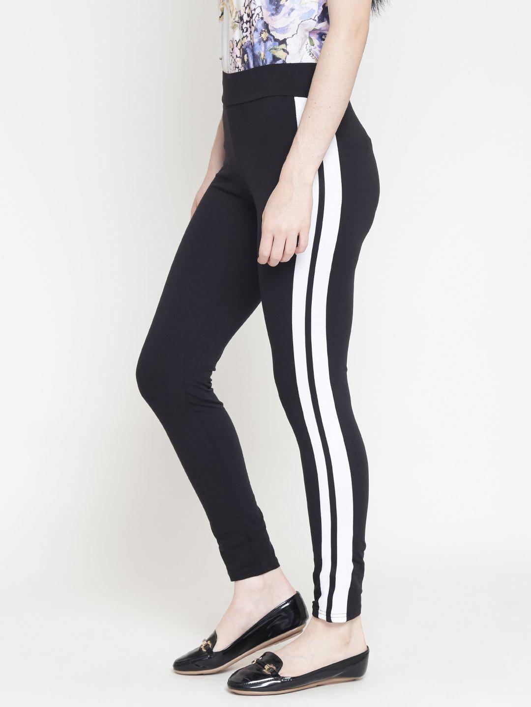 Ds Fashion Cotton Jeggings - Black