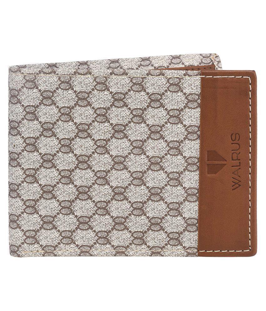Walrus Faux Leather Multi Fashion Regular Wallet