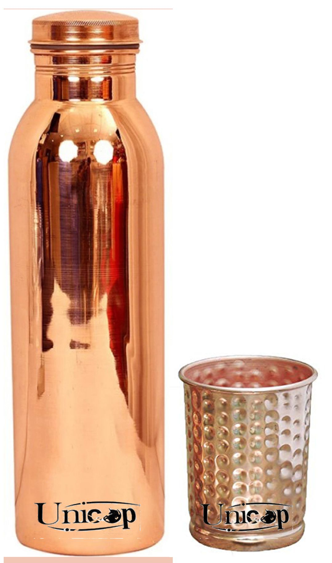UNICOP Copper Bottle Gift 2 Pcs Lemon set