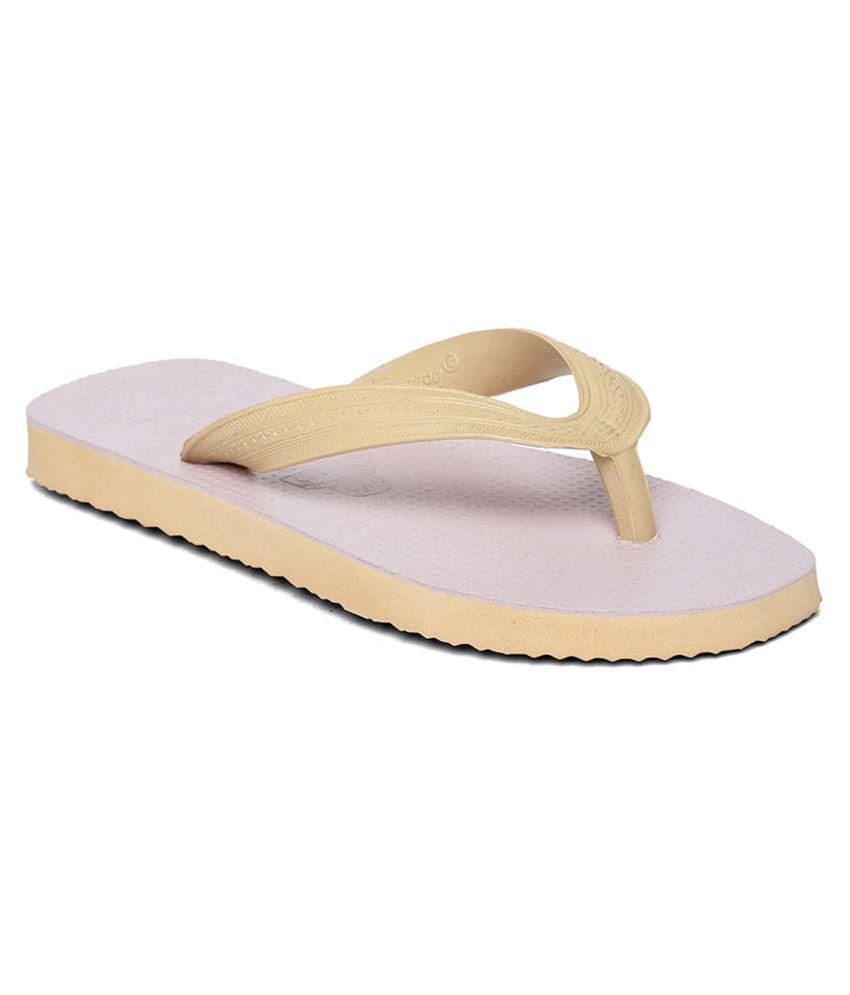 Paragon Kids Beige Flip-Flops Slippers