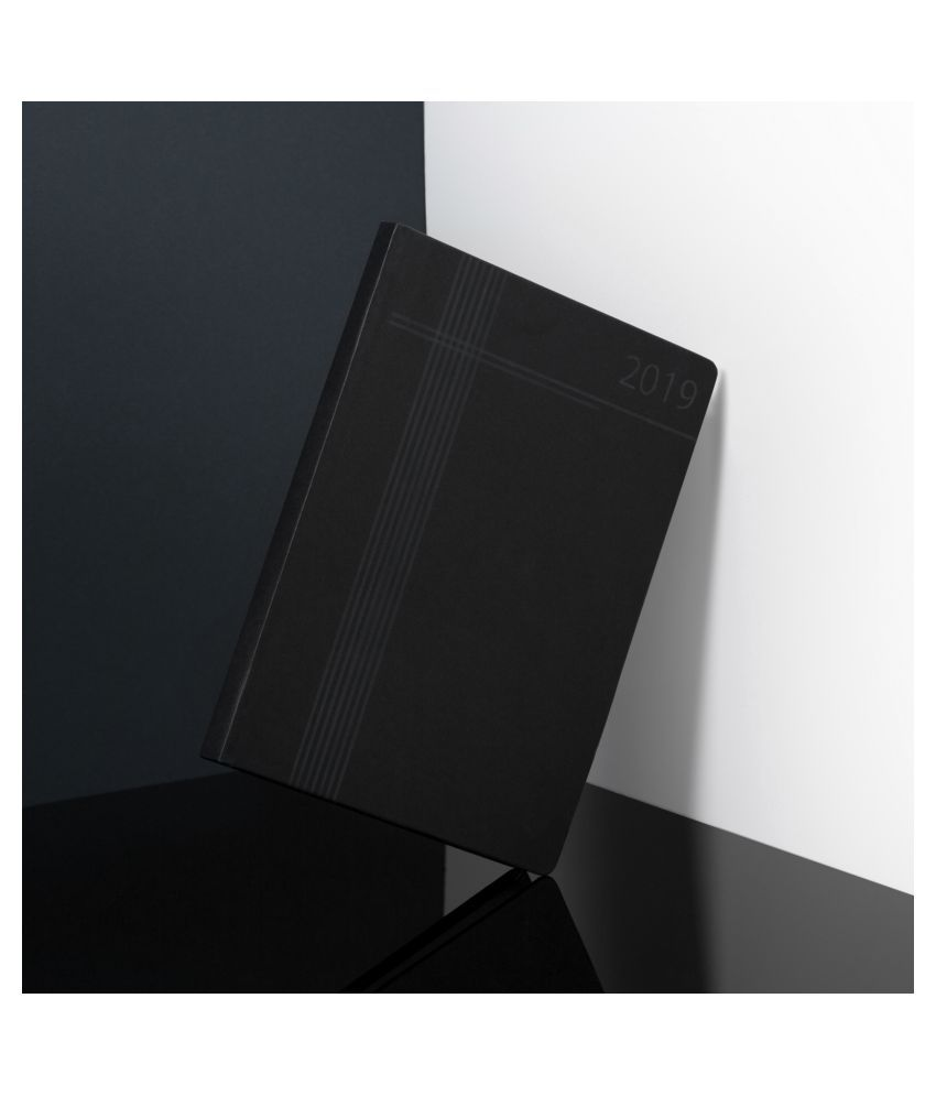 Classic Black Folder with Notepad A5