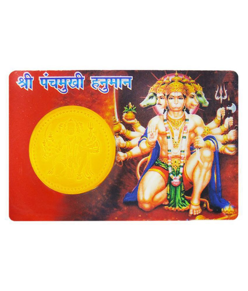 Panchmkhi Hanuman ATM Card to keep in Pocket / Wallet, 100% Original